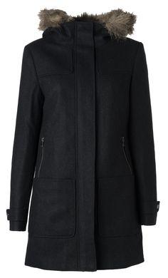 simple wool coat