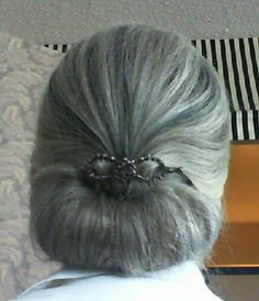 Victory Roll & Flexi Clip - Back By: Sharon Danley