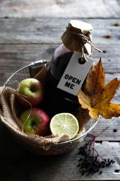 hyldebærsaft med æble