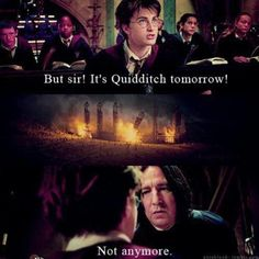 It should make me sad seeing Hogwarts destroyed, but it is just funny.
