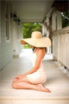 Dress and Summer hat combo