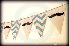 Cumpleaños de bigote Banner poco hombre por ImSeriouslyJoking