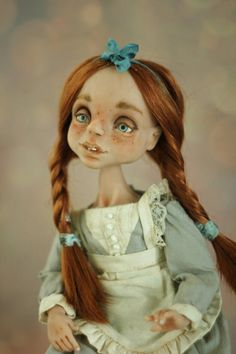 handmade doll poseable doll one of a kind doll ooak doll