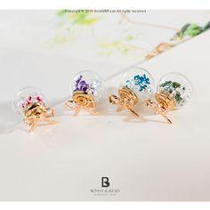 Bonny & Read 平價飾品 - 甜蜜花語泡泡耳環 / 4色