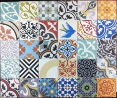 moroccan tile effect lino gallery. Black Bedroom Furniture Sets. Home Design Ideas