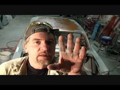 Classic Car Restoration-How To Prep Your Surface Rusted Metal. Part 3
