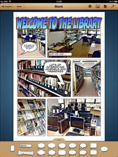 elearningstuff.net - Comic Life  iPad App of the Week