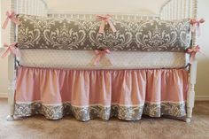 Hey, I found this really awesome Etsy listing at https://www.etsy.com/listing/185804843/custom-crib-bedding-set-soft-damask