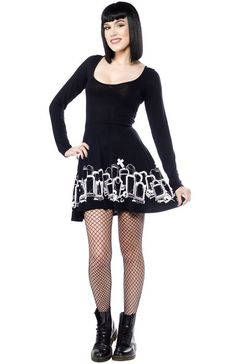 Grave Digger Skater Dress