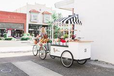 We'll be pedalling on over to for art hop tonight! Flower Truck, Flower Cart, Food Truck, Gaudi, Popcorn Cart, Petal Pushers, Cargo Bike, Flower Stands, Stand Design