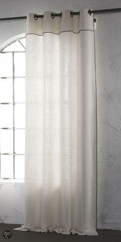 ByTzum Kant en klaar gordijn Radyr  - Ecru 140 x 270cm
