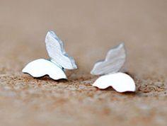 New Sterling Silver Stringy butterfly Stud Earrings Aider http://www.amazon.com/dp/B00OZ6RRA6/ref=cm_sw_r_pi_dp_tlTLvb1Y3RB1E