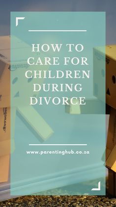 Parents going through a divorce/separation are mostly always concerned about what it is going to do to the children and how to minimise the impact it will have on them.