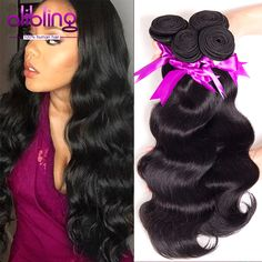 7A Unprocessed Brazilian Virgin Hair Body Wave 4Bundles Queen Hair Products Brazilian Body Wave Wavy Hair Weave Bundles 100g/Pcs