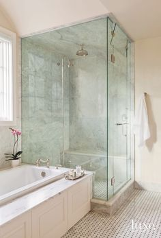 Image Gallery Website A jacuzzi tub and large shower should be a bathroom standard