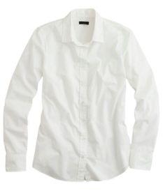 wardrobe essential white shirt