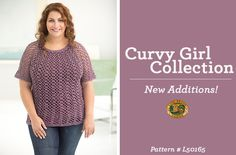 The New Curvy Girl Collection is here! 7 brand new patterns to knit and crochet!