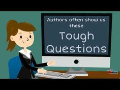 Noticing when a character asks him or herself a really difficult question can help us to understand conflict -- Created using PowToon -- Free sign up at http...