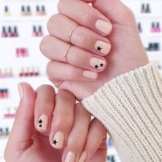 Manicure z gwiazdami