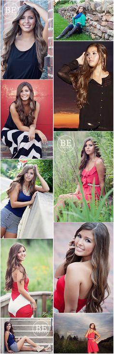 B.E. Senior posing inspiration - Lauren