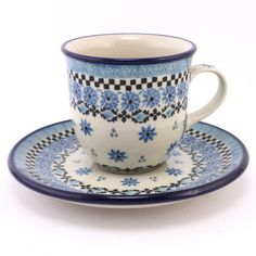 This pattern seems to be perfect for fans of #F1 :) #PolishPottery is ready for you at http://slavicapottery.com