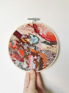 Abstract Embroidery, Embroidery Hoop Art, Modern Embroidery, Cross Stitch Embroidery, Embroidery Designs, Textile Fiber Art, Textile Artists, Embroidery Companies, Water Soluble Fabric