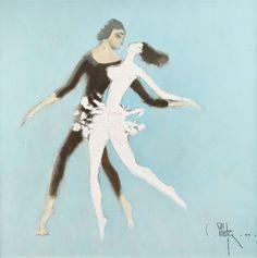 Constantin Piliuţă Tango, 1999 Oil on × 56 cm Tango, Oil, Butter