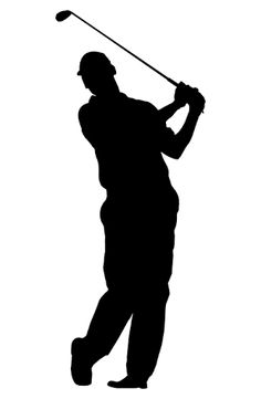 Image result for angry golfer clip art silhouette