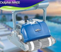 Dolphin M400 20 best robotic pool cleaners for 2019