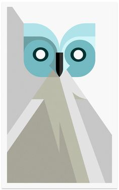 Day Owl  Limited edition, signed and numbered by artist Josh Brill