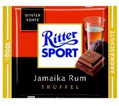 RITTER SPORT Jamaika Rum Trüffel (2006)