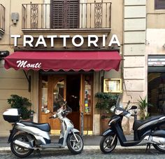 Eating in Rome {Trattoria Monti} I www.gillianslists.com