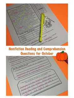 These informational texts are high interest because of the seasonal themes. my students love them! They make for great sight word, comprehension, and writing practice! Reading comprehension passages and questions made easy and engaging! Fluency Activities, About Me Activities, Vocabulary Activities, Guided Reading Lessons, Reading Resources, Vocabulary Practice, Writing Practice, Reading Comprehension Passages, Back To School Teacher