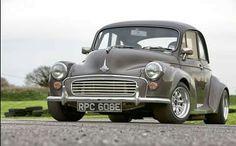 Morris Minor, nice stance. Mini Morris, Morris Minor, S Car, Small Cars, Retro Cars, Amazing Cars, Hot Cars, Volvo, Cars And Motorcycles