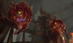 cacodemons from new upcoming Doom