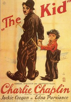 In the middle of nothingness to do, I decided to watch The Kid by Charlie Chaplin and I turned out liking it. This film was one of my favorite Charlie Chaplin films. Classic Movie Posters, Classic Movies, The Kid 1921, Charlie Chaplin Movies, Edna Purviance, Bon Film, Kids Poster, Cinema Posters, Kid Movies