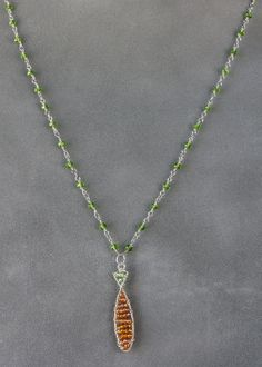 Tangerine_Crystal_Sign_of_the_Fish_Necklace_800.JPG 571×800 pixels
