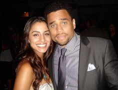 hollywood couples 2013 | Mixed Couples – Michael Ealy & Khatira Rafiqzada