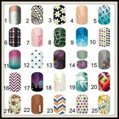 "That's right- we are playing BINGO! This isn't your normal bingo...this is Jamberry Style! So here is how you play- you have between now and Thursday night at 8:00 EST to make your choices. Comment below with 5 numbers, any 5 from the board, in any order. On Thursday I will start posting wraps from the board, and the first person to type ""BINGO"" (meaning all of your numbers were called, not in any particular order) will win a FREE 1/2 sheet of Jams from me! This will be SO fun!"