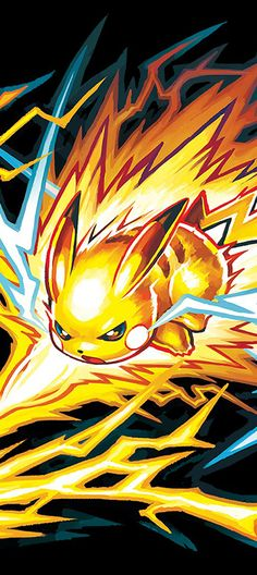 Pikachu Z-Move Pokemon Sun and Moon wallpaper