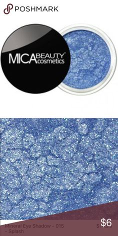 Eyeshadow MicaBeauty mineral eye shadows' glamorous shimmers will give you the look you always wanted. Apply on eyes dry, add water for eyeliner, use for hairstreaks with gel, use with lip balm, dip in clear nail polish, & so much more! MicaBeauty mineral makeup is extremely gentle, free of preservatives, chemicals, dyes, talc, oils, and other fillers. With this unique formula, your eye shadows will look ultra smooth and stay put for hours without creasing or pulling the delicate eye area…