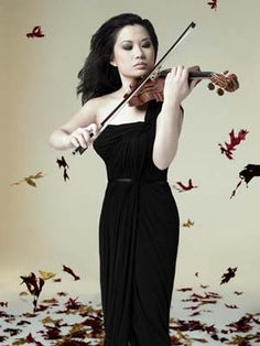Another amazing violinist, Sarah Chang!
