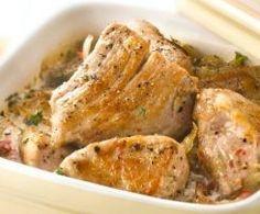 Sauté de porc au cidre par Lotou - Recette de la catégorie Viandes