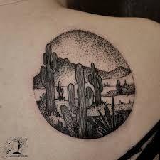 Resultado de imagem para desert tattoo