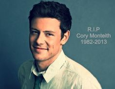 """""""Life is to short to be serious""""                                       - Cory Monteith"""