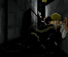 Ohhoho, seems about right. Shizaya. Izaya x Shizuo. Durarara!!