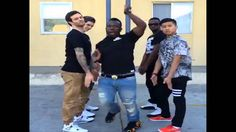 When your whole crew's outfits are on point... Vine by Jerry Purpdrank