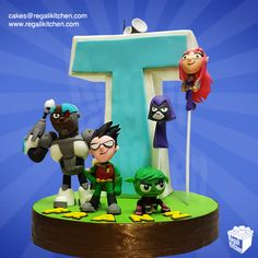 Sculpted Teen Titans Cake | 3D Cake | Cakes by The Regali Kitchen
