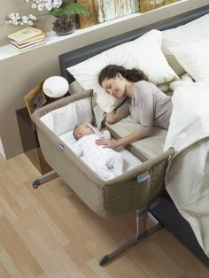 Chicco Next 2 Me Co-Sleeper Bedside Crib/Travel Cot £149.99 at babymonitorsdirect.co.uk Holds baby up to 20 lbs.
