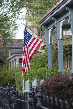 american flag in chestnut hill - philadelphia Chestnut Hill Philadelphia, Wonderful Places, Great Places, A Lovely Journey, Keystone State, God Bless America, Pennsylvania, American Flag, Countryside